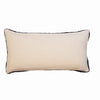 Cushion Cover - Baldu Off White & Navy border