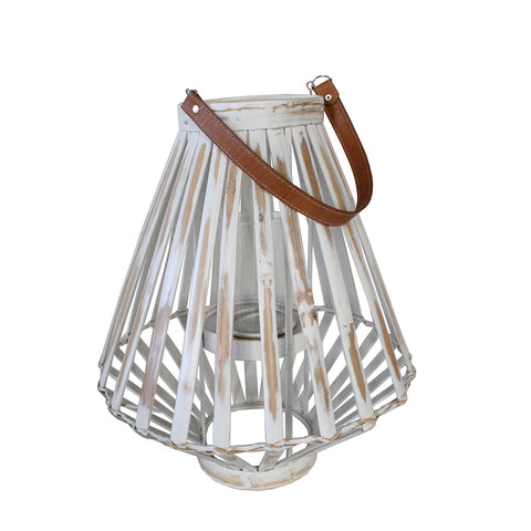 Lantern - AIDA - White washed (Small & Large)