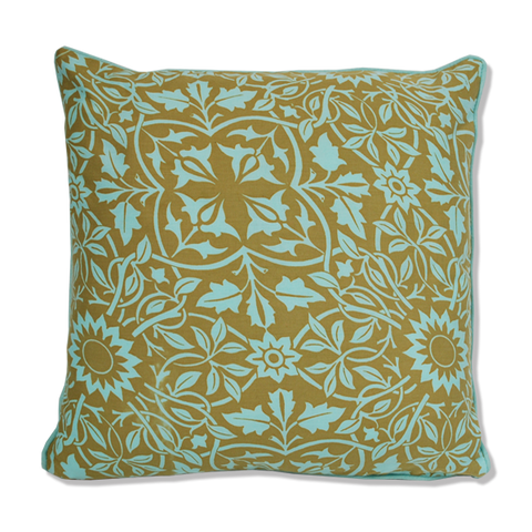 Cushion Cover - Olive Classical (M / 45X45cm)