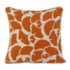 Cushion Cover - Umbela Tangerine Orange (S/35x35cm) | Gaya Alegria