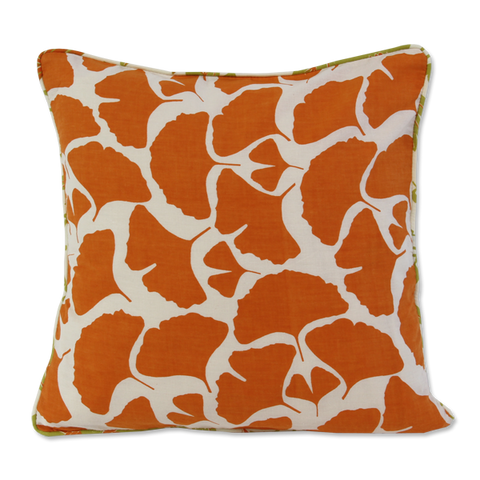 Cushion Cover - Umbela Tangerine Orange (S / 35x35cm) | Gaya Alegria