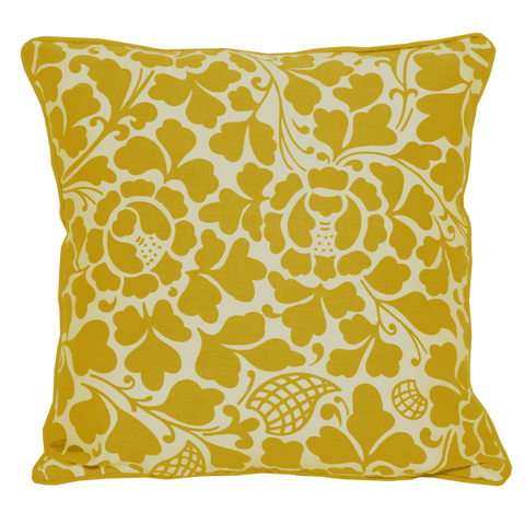 Cushion Cover - Passio Yellow (S / 35x35cm) | Gaya Alegria