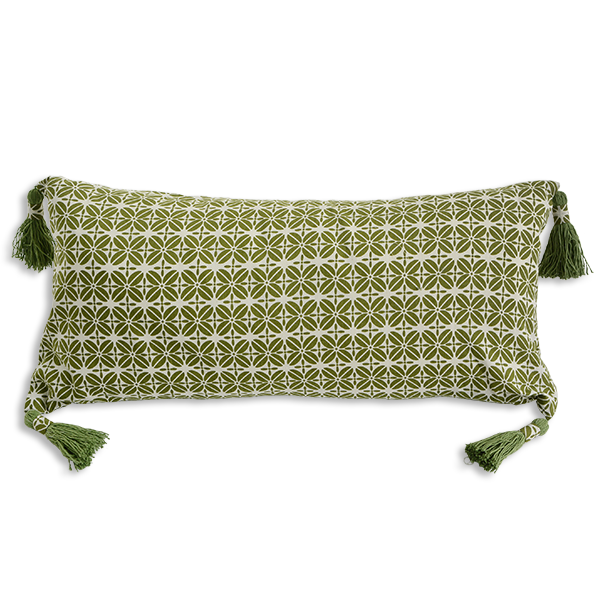 Cushion Cover - Kopi Luak Advocado (30x60) | Gaya Alegria