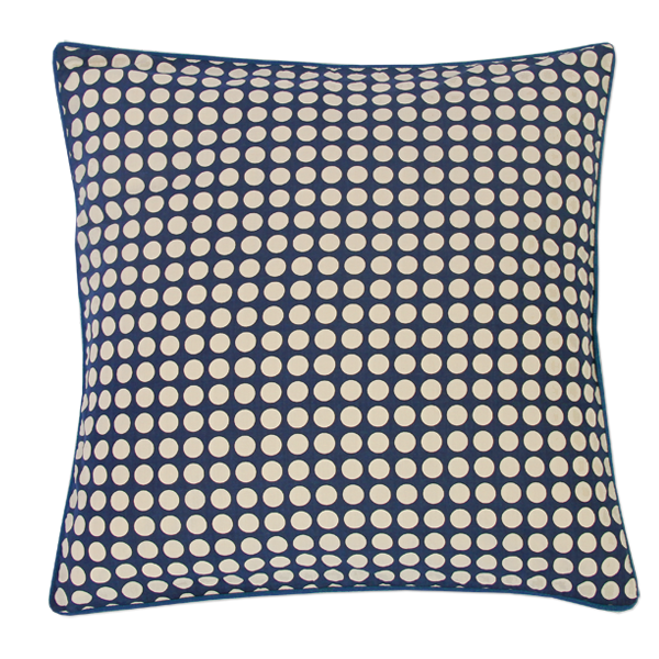 Cushion Cover - Lonara Midnight Blue (M/45X45cm) | Gaya Alegria