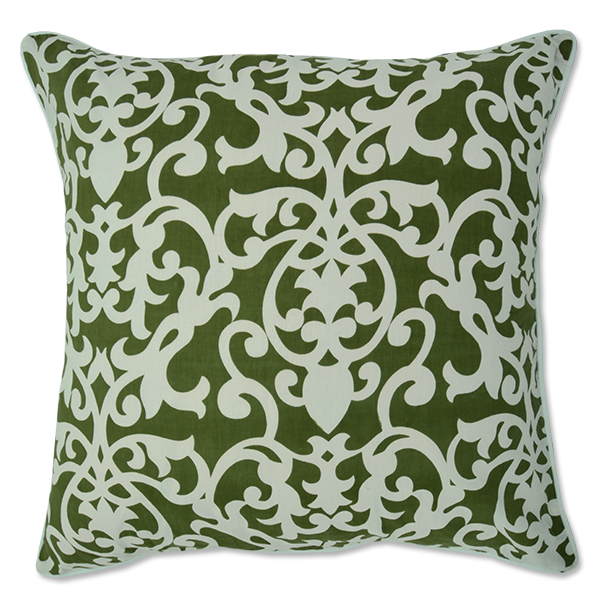Cushion Cover - Lavanda Dark Olive (M) | Gaya Alegria