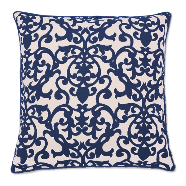 Cushion Cover - Lavanda Midnight Blue (XL/65x65cm) | Gaya Alegria
