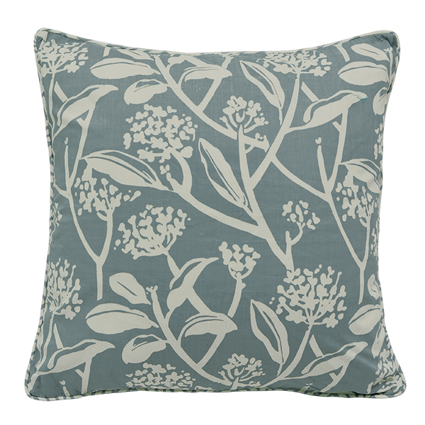 Cushion Cover - Frani French Blue (XL/65x65cm) | Gaya Alegria