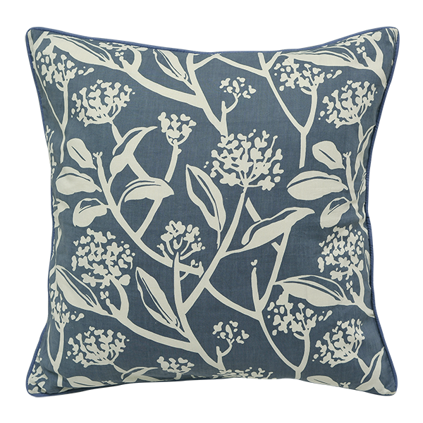 Cushion Cover - Frani Cool Blue (M/45x45cm) | Gaya Alegria