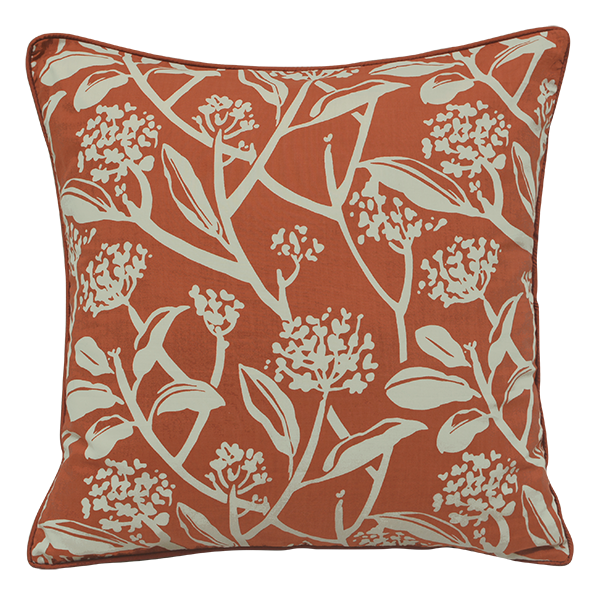 Cushion Cover - Frani Orange (Large / 65x65cm) | Gaya Alegria