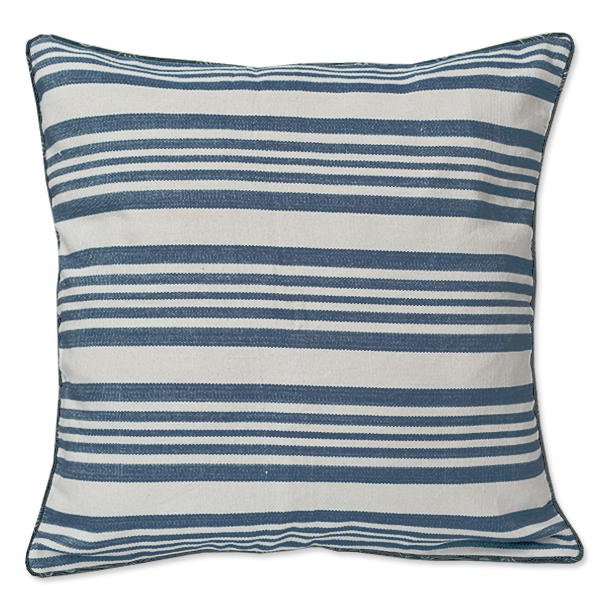 Cushion Cover - Lima Blue (M / 45X45cm) | Gaya Alegria