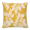 Cushion Cover - Hoja Yellow (XL/65X65cm) | Gaya Alegria