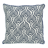 Cushion Cover - Pavo Midnight Blue (M/45x45cm) | Gaya Alegria