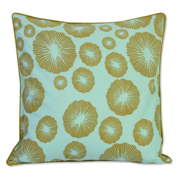 Cushion Cover - Marae Olive (M) | Gaya Alegria