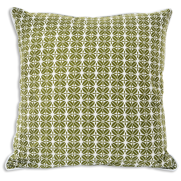 Cushion Cover - Kopi Luak Advocado (50x50) | Gaya Alegria
