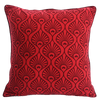 Cushion Cover - Pavo Red Maroon (L/50x50cm) | Gaya Alegria