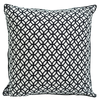 Cushion Cover - Rings Black & White (L/50X50cm) | Gaya Alegria
