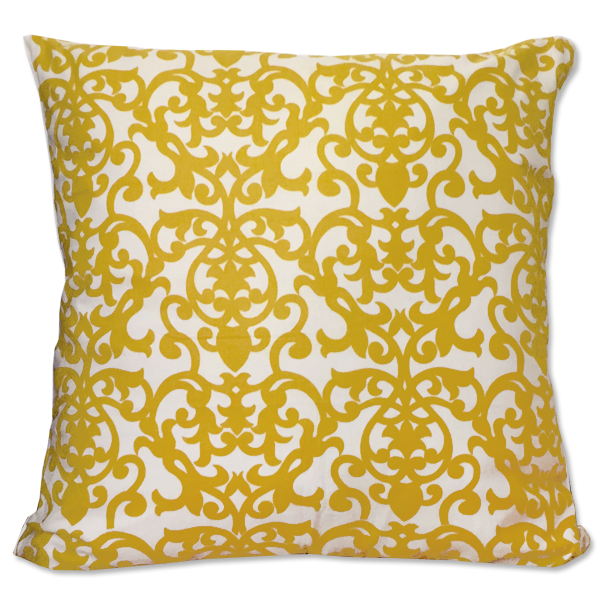 Cushion Cover - Lavanda Citrus Yellow (M) | Gaya Alegria