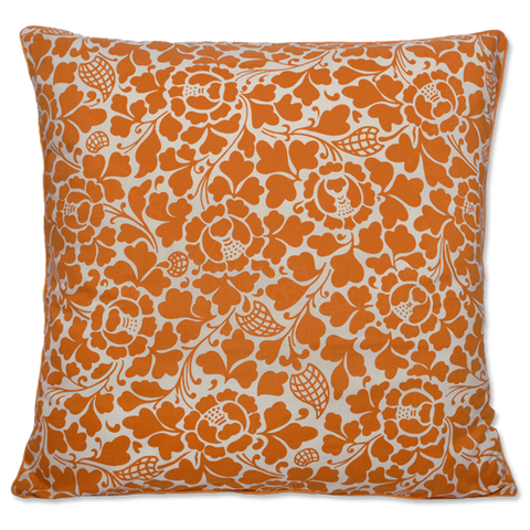 Cushion Cover - Passio Tangerine Orange (L / 65x65 cm) | Gaya Alegria