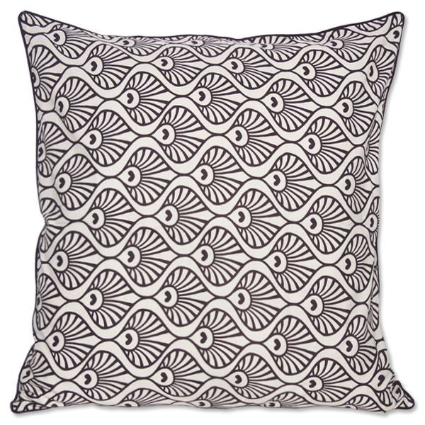 Cushion Cover - Pavo Violet (M) | Gaya Alegria