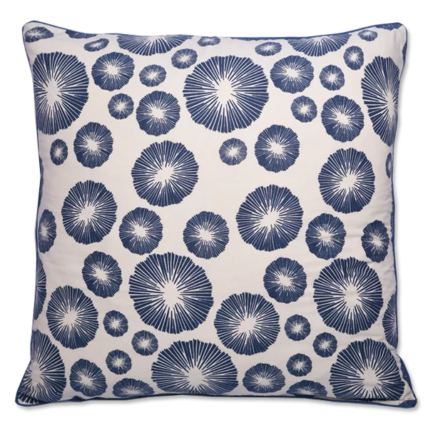 Cushion Cover - Marae Midnight Blue (M) | Gaya Alegria