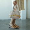 Yellow mix short Crocheted Bag | Gaya Alegria