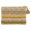 Crocheted Clutch Bag - Yellow | Gaya Alegria