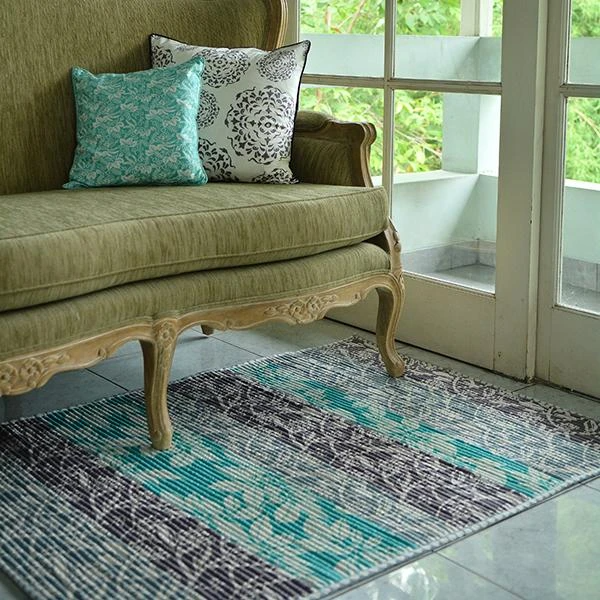 Corded Carpet -  Frani Teal (S/91x122cm)