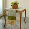 Table Runner - Turmeric Green Cotton (35x198 cm)