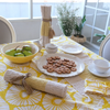 Table Cloth - Retro yellow Flower (180x230cm) | Gaya Alegria