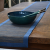 Midnight BLue Capiz & Palm Wood Salad Servers | Gaya Alegria
