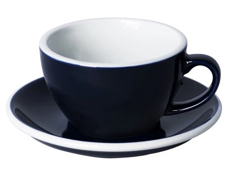 Coffee Cup & Saucer - Dark Navy- 2 sizes | Gaya Alegria
