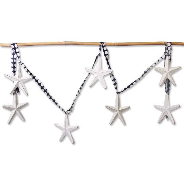 Wooden Starfish decoration | Gaya Alegria