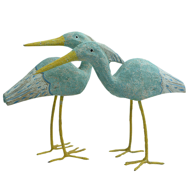 Wooden Sea Bird (set of 2) | Gaya Alegria