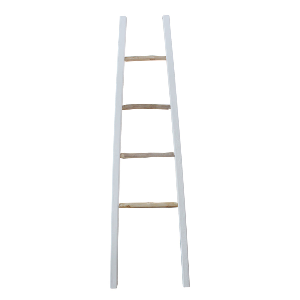 Ladder -AMBRE - WHITE/NAT BRANCH