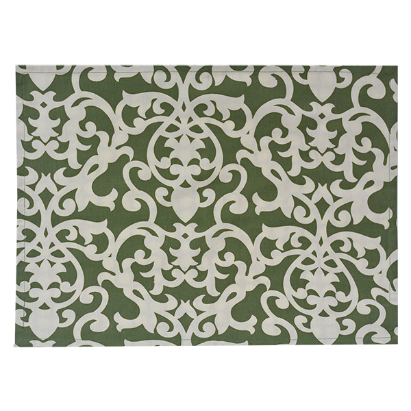 Fabric Placemats - Lavanda Dark Olive