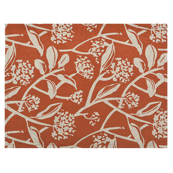 Fabric Placemats - Frani Orange