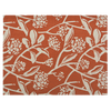 Fabric Placemats - Frani Orange (set of 4) | Gaya Alegria