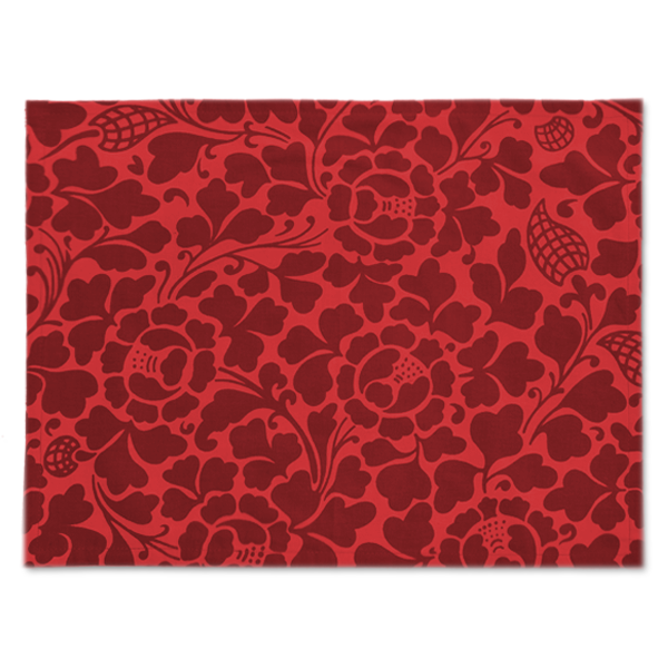 Fabric Placemats - Passio Maroon