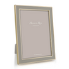 Photo Frame - Khaki Laquer & Gold Frame