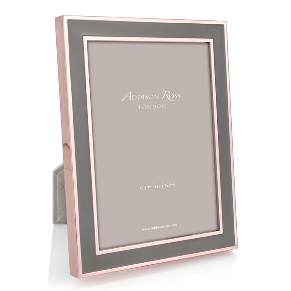 Photo Frame - Rose Gold & Khaki | Gaya Alegria
