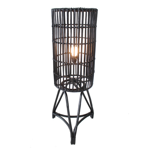 Floor Lamp - Astoria (BL-NIC-FULL RATTAN)