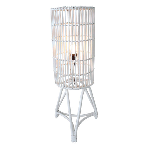 Floor Lamp - Astoria (WH-NIC-FULL RATTAN)