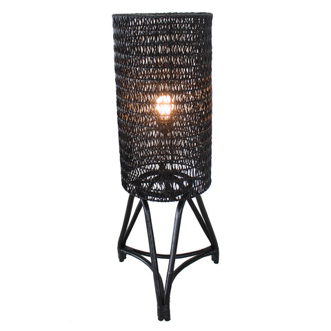 Floor Lamp - Astoria (BL-CAR-FULL RATTAN)