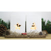 Set of 2 lanterns & tray - Noel | Gaya Alegria