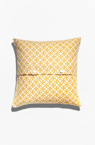 Cushion Cover - Cincin Citrus Yellow | Gaya Alegria