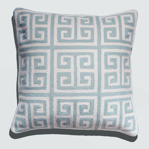 Cushion Cover - Kowloon Stone Blue (L/50x50cm) | Gaya Alegria