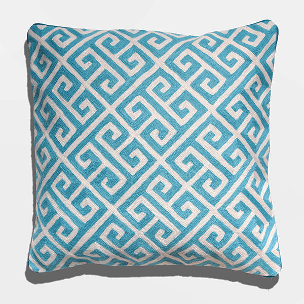 Cushion Cover - Yuen Teal (L/50x50cm) | Gaya Alegria