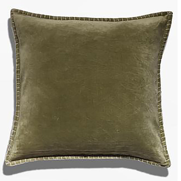 Cushion Cover - Baldu Moss Green (L/50x50cm) | Gaya Alegria