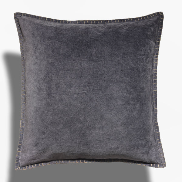 Cushion Cover - Baldu Steel Gray (L/50x50cm) | Gaya Alegria