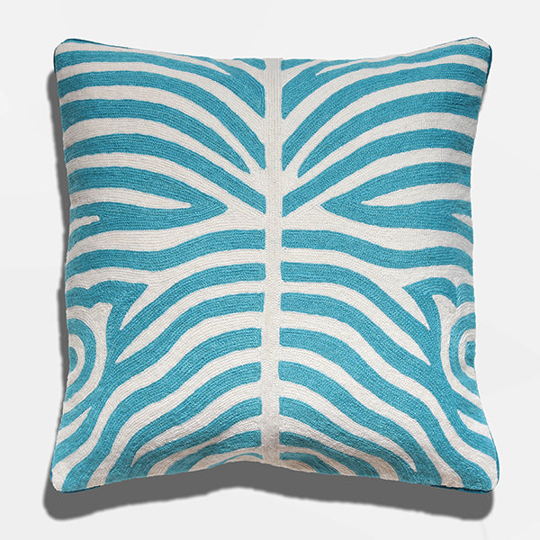 Cushion Cover - Kuda Teal (L/50x50cm) | Gaya Alegria